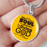 My Soul Thirsts - Luxury Christian Necklace