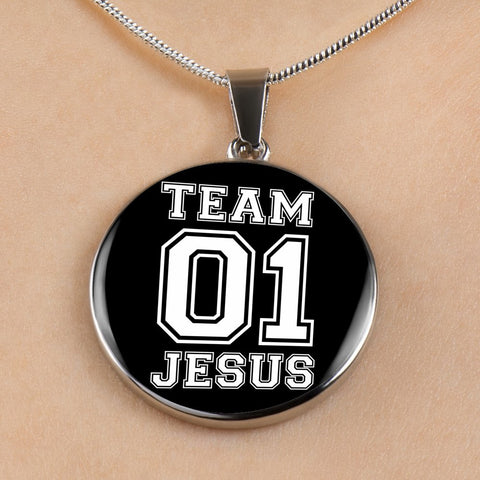 Team Jesus - Luxury Christian Necklace