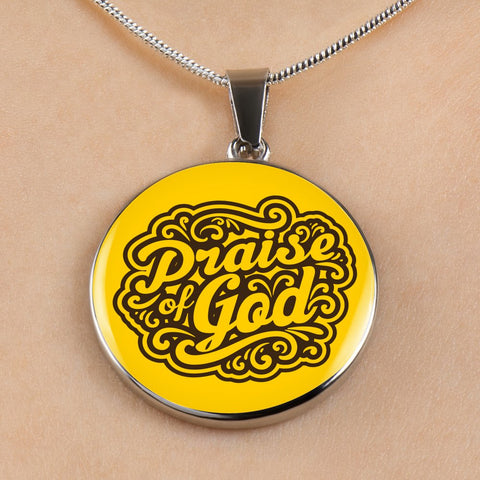 Praise God - Luxury Christian Necklace