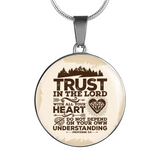 Trust In The Lord - Luxury Christian Necklace