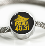 Isiah 40:31 - Luxury Christian Bracelet