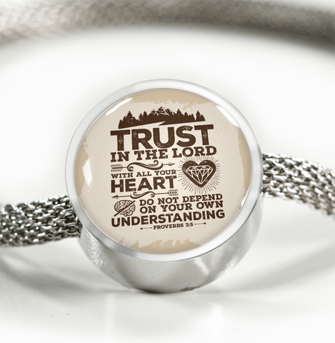 Trust In The Lord - Luxury Christian Bracelet