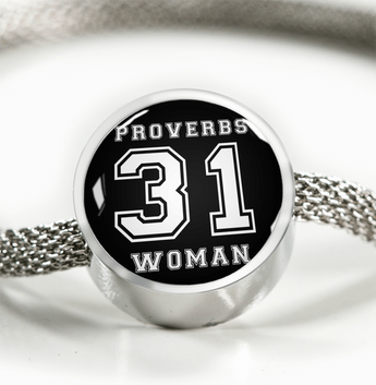 Proverbs 31 Woman - Luxury Christian Bracelet