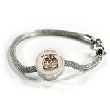 My Rock & Salvation - Luxury Christian Bracelet