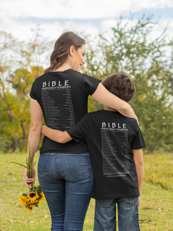 Bible Emergency Numbers - Womens Tee