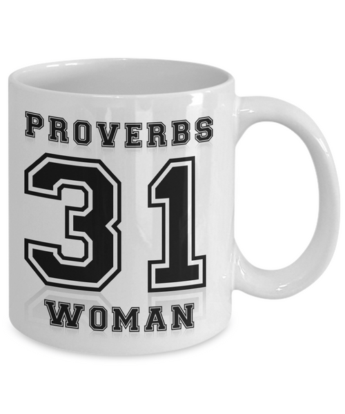 Christian Proverbs 31 Woman - Christian Coffee Mug
