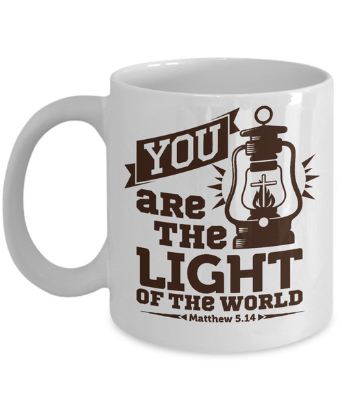 Christian Light Of The World - Christian Coffee Mug