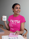 FAITH Acronym - Womens Tee