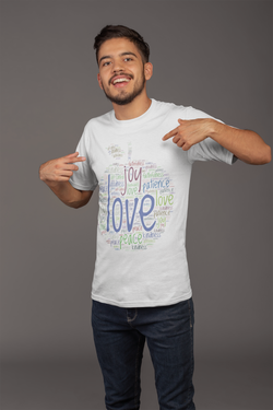 Fruit of the Spirit Word Cloud - Mens Tee
