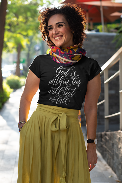 God Is Within Her - Womens Tee