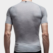 100% Merino Short Sleeve Baselayer Grey - Maats