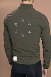 Canvas Bad Weather Jacket Moss - Maats