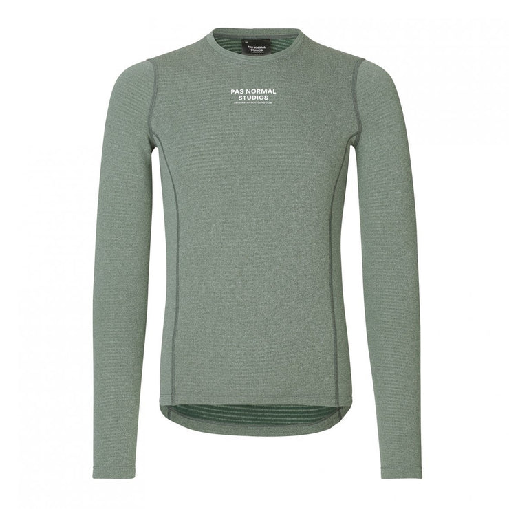 Control Heavy Baselayer Long Sleeve Dark Green - Maats
