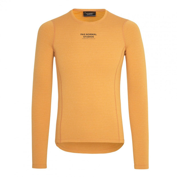Control Heavy Baselayer Long Sleeve Orange - Maats
