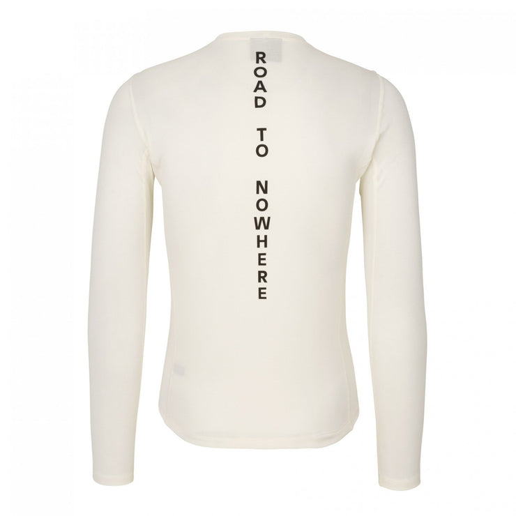 Control Mid Baselayer Long Sleeve Off-White - Maats