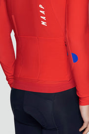 Force Pro Long Sleeve Jersey Chili - Maats