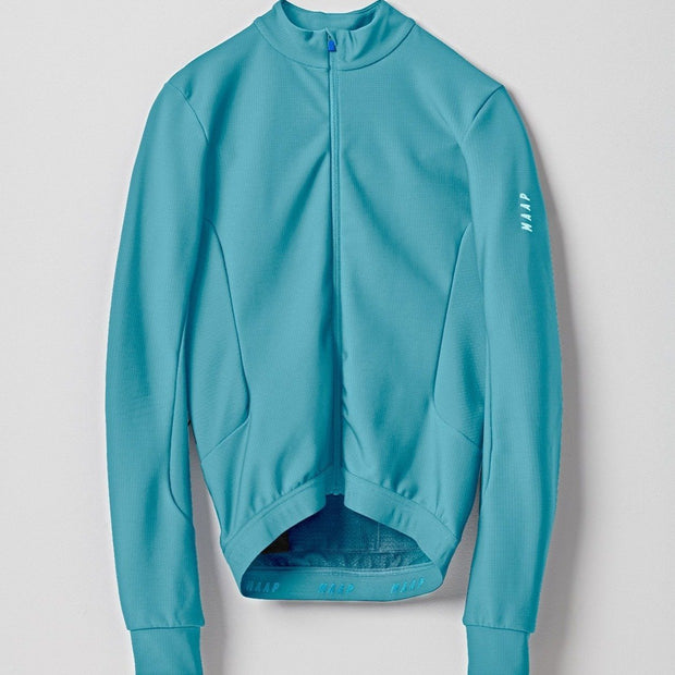 Force Pro Long Sleeve Jersey Cyan - Maats