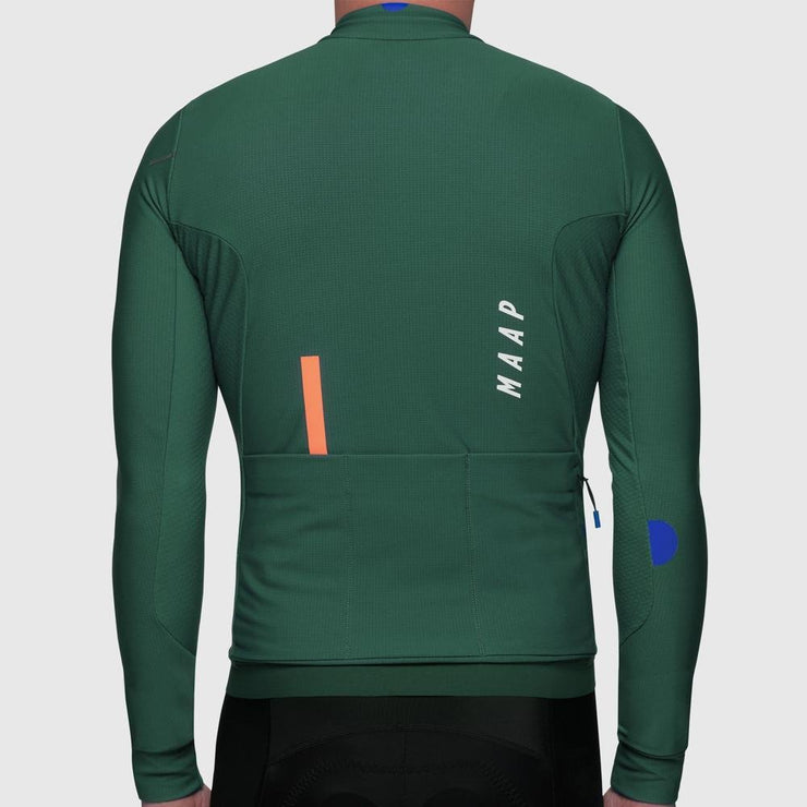 Force Pro LS Jersey Green - Maats