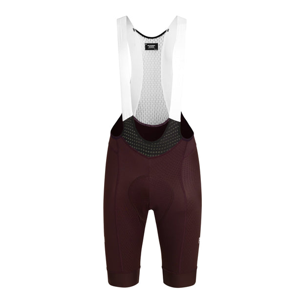 Mechanism Bib Shorts Dark Red - Maats