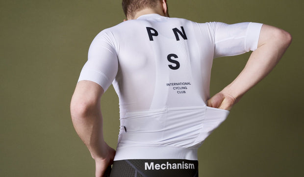 Mechanism  Jersey White - Maats