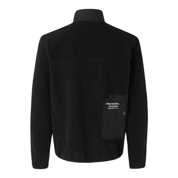 Off-Race Fleece Jacket Black - Maats