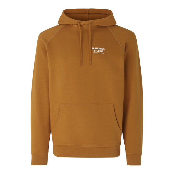 Off-race Logo Hoodie Burned Orange - Maats
