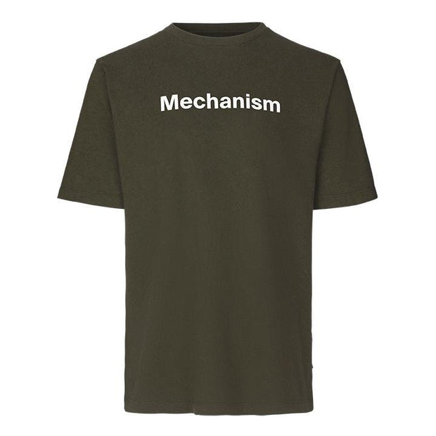 Pas Normal Studios Mechanism Olive T-Shirt - Maats