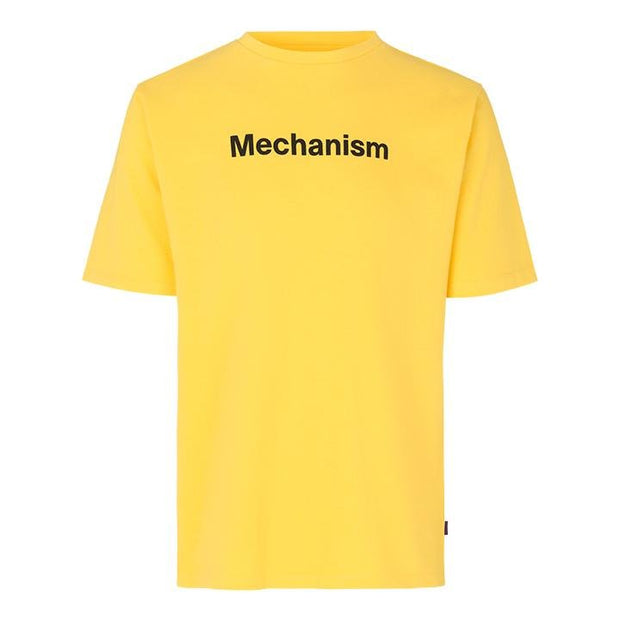 Pas Normal Studios Mechanism Yellow T-Shirt - Maats