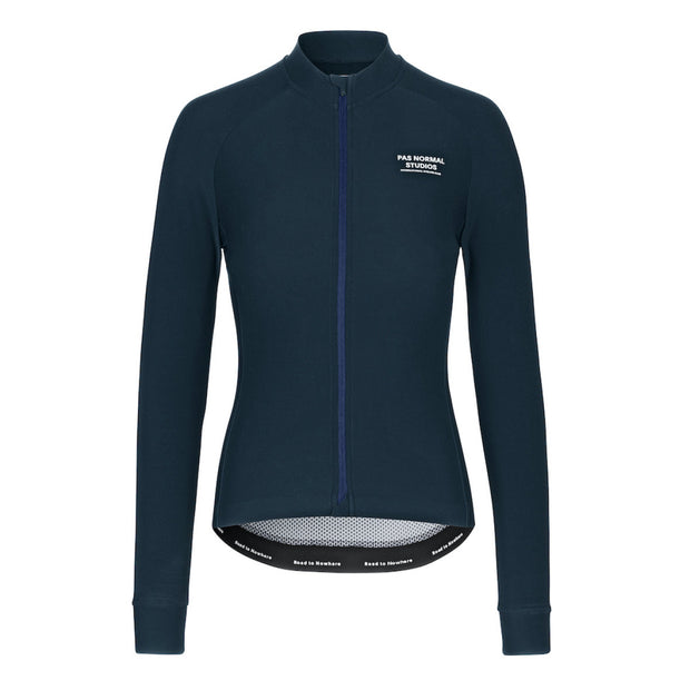 Women's Long Sleeve Jersey Navy - Maats