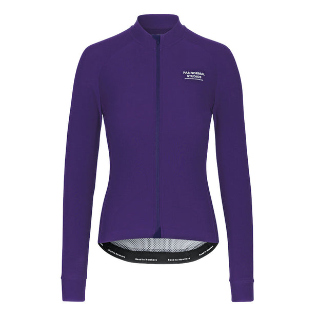 Women's Long Sleeve Jersey Purple - Maats