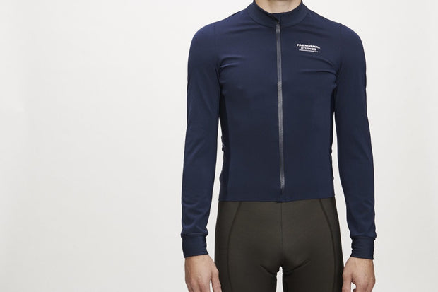 Control Heavy Long Sleeve Jersey Navy - Maats