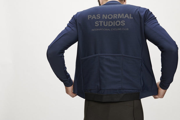 PNS Control Heavy Long Sleeve Jersey Navy - Maats