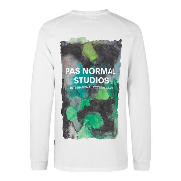 PNS Logo Long Sleeve T-Shirt Water Green - Maats