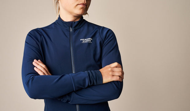 PNS Women's Heavy Long Sleeve Jersey Navy - Maats