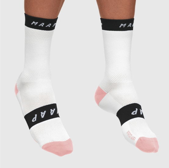 Pro Air Sock White/Black - Maats