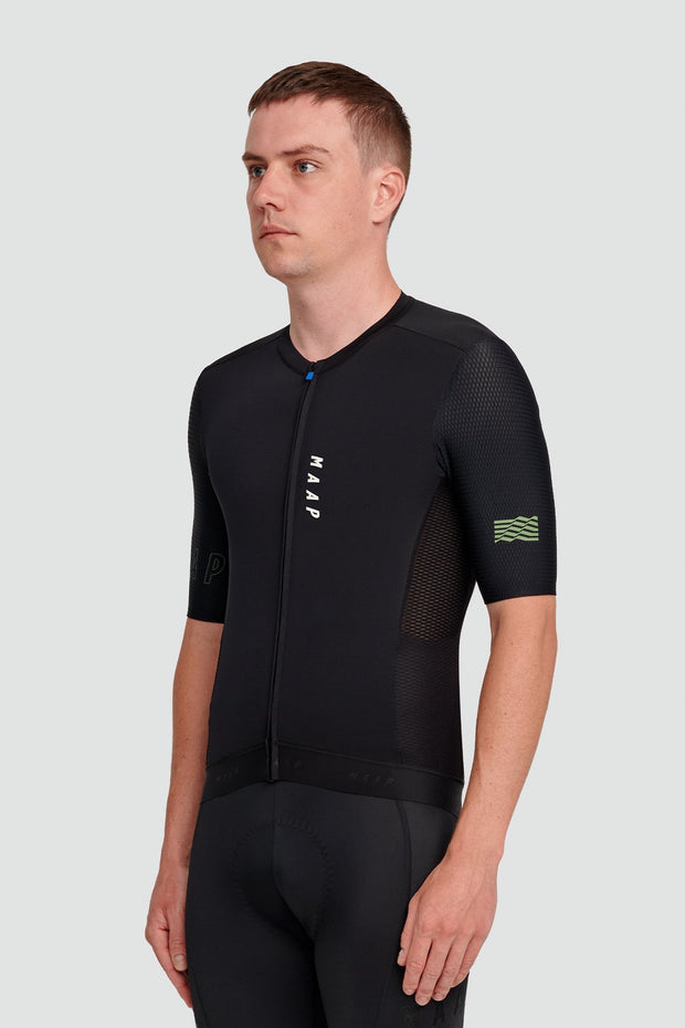 Stealth Race Fit Jersey Black - Maats