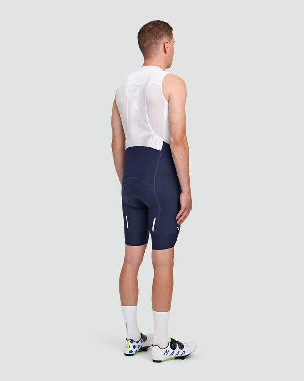 Team Bib Shorts EVO Navy/White - Maats