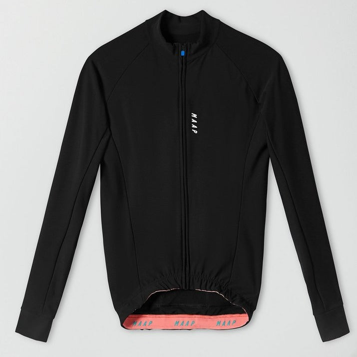 Training LS Jersey Black/White - Maats