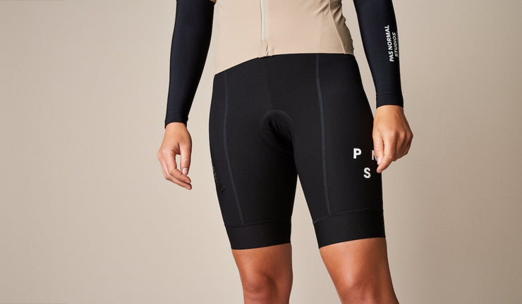 Women's Control Fleece Bib Shorts Black - Maats