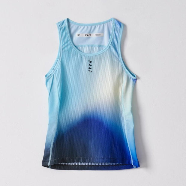 Women's Flow Team Baselayer Aqua - Maats