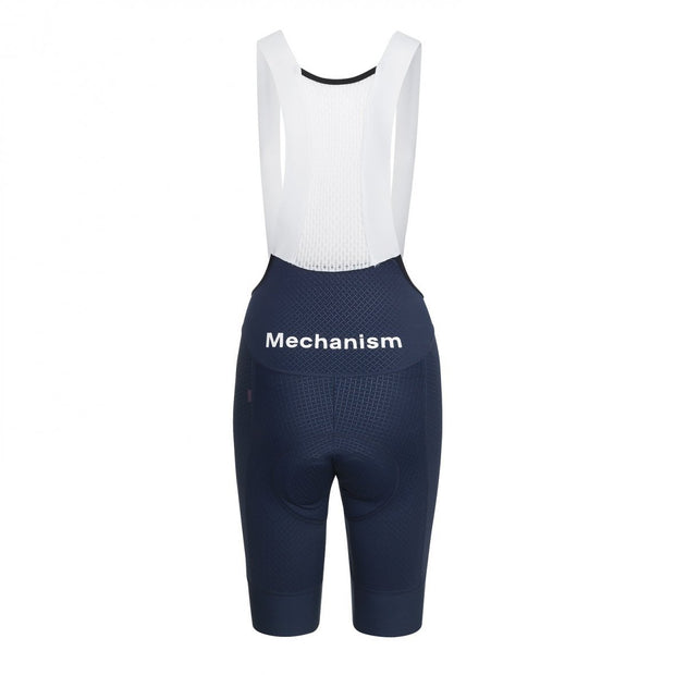 Women's Mechanism Bib Shorts Navy - Maats