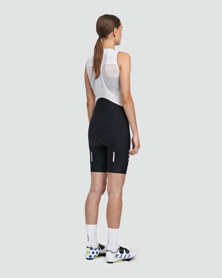 Women's Team Bib Shorts Evo Black/White - Maats