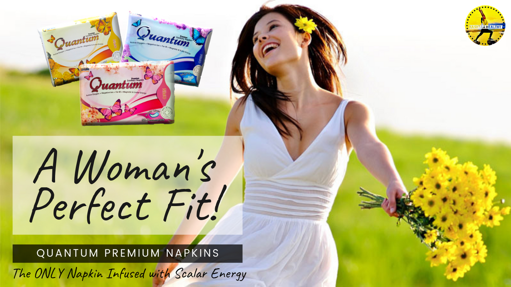 Quantum Premium Pads is the NEW NAPKIN TO LOVE!