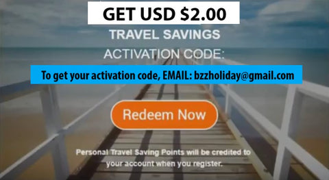 how to get bzz world travel activation code