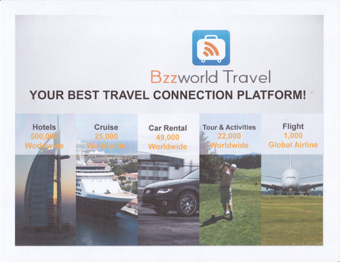 BZZ WORLD TRAVEL EXCLUSIVE TRAVEL PLATFORM | Hashtag HealThy