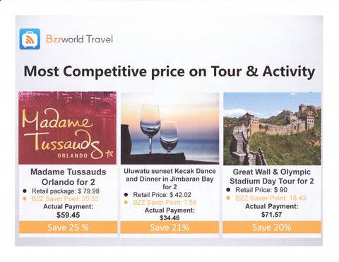 Bzz WORLD TRAVEL TOURS AND ACTIVITIES CHEAPEST | Hashtag HealThy
