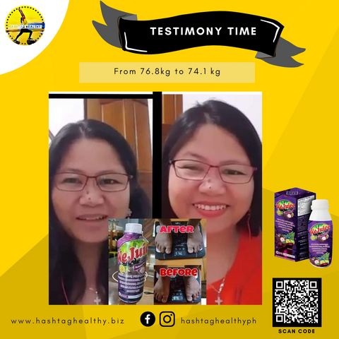 Wejuice All in one organic juice drink testimony