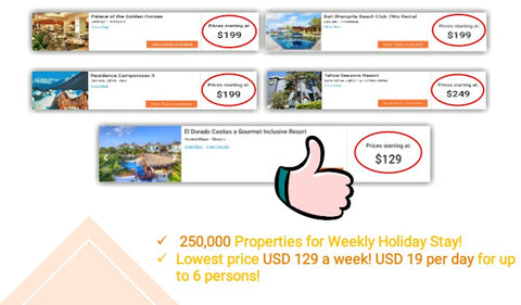 Weekly Stay Bzz world holiday