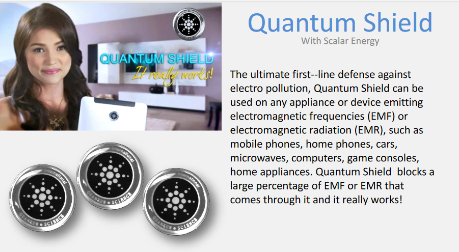 Quantum Shield Anti EMF and Radiation Sticker | Hashtag HealThy