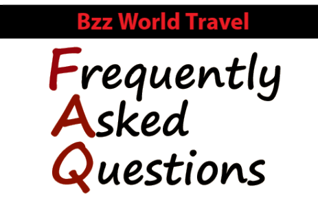 Bzz World Travel Frequently Asked Questions